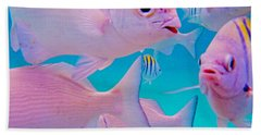 Fish Frenzy Hand Towel