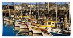Fishermans Wharf San Francisco Bath Towel
