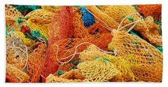 Fishing Float Nets Hand Towel