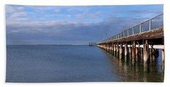 Fishing Pier 1 Bath Towel