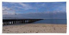 Fishing Pier 3 Bath Towel
