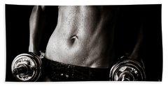 Fitness Motivation Hand Towel