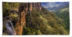 Fitzroy Falls In Kangaroo Valley Australia Hand Towel