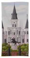 Five Fifteen In New Orleans Hand Towel