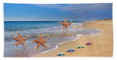 Five Star Beach Yippe Yah Hand Towel