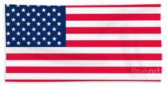 Flag Of The United States Of America Bath Towel