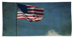 Flag - Still Standing Proud - Luther Fine Art Bath Towel