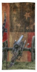 Flags Of The Confederacy Bath Towel