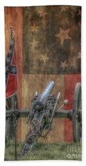 Flags Of The Confederacy Bath Towel by Randy Steele