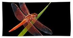 Flame Skimmer - Dragonfly Bath Towel