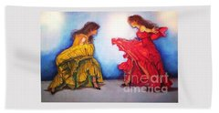 Flamenco II Hand Towel