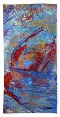 Flight Hand Towel by Dick Bourgault