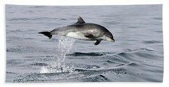 Flight Of The Dolphin Bath Towel