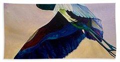 Flight Of The Heron Hand Towel