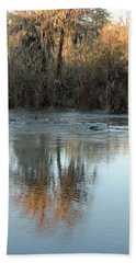 Hand Towel featuring the photograph Flint River 17 by Kim Pate