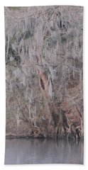 Hand Towel featuring the photograph Flint River 2 by Kim Pate