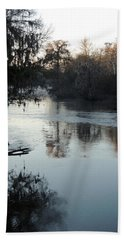 Hand Towel featuring the photograph Flint River 20 by Kim Pate