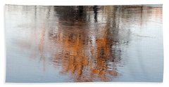 Hand Towel featuring the photograph Flint River 22 by Kim Pate