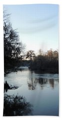 Hand Towel featuring the photograph Flint River 23 by Kim Pate