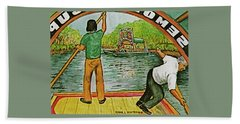 Floating Gardens Xochimilcho Mexico Hand Towel by Frank Hunter