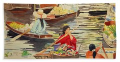 Floating Market Hand Towel