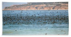 Flocking At Terranea Hand Towel