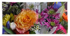 Floral Bouquet 6 Hand Towel by Sharon Talson