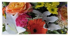Floral Bouquet 7 Bath Towel