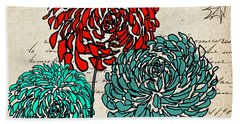 Floral Delight Iv Bath Towel
