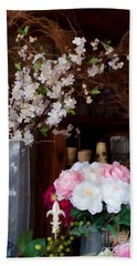 Floral Display Hand Towel