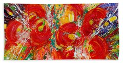 Floral Expressions Hand Towel