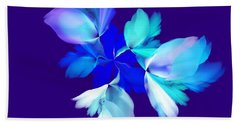 Hand Towel featuring the digital art Floral Fantasy 012815 by David Lane