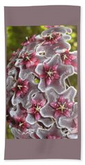 Floral Presence - Signed Hand Towel