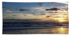 Bath Towel featuring the photograph Florida Sunrise by Ally  White