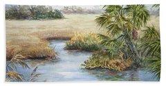 Florida Wilderness IIi Hand Towel by Roxanne Tobaison