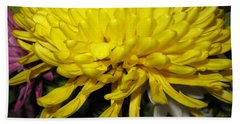 Yellow Queen. Beautiful Flowers Collection For Home Hand Towel