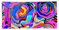 Abstract Art Painting #2 Bath Towel