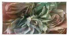 Flower Dance - Abstract Art Bath Towel