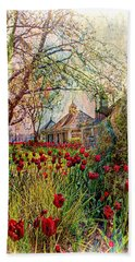 Flower Garden Series 02 Hand Towel