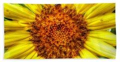 Flower Power Bath Towel by Tina  LeCour