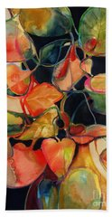 Flower Vase No. 5 Hand Towel by Michelle Abrams