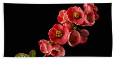 Flowering Quince Bath Towel