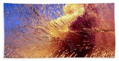 Flowers In Ice Bath Towel by Randi Grace Nilsberg
