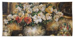 Flowers Of My Heart Hand Towel