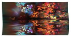 Flowers Of The Night Bath Towel