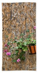 Flowers On Wall - Taromina Hand Towel