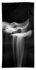 Flowing Sand In Antelope Canyon Hand Towel