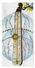 Fludd Universe, 1617 Hand Towel by Granger