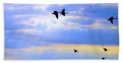Fly Like The Wind Bath Towel by Robyn King