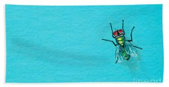Fly On The Wall Bath Towel
